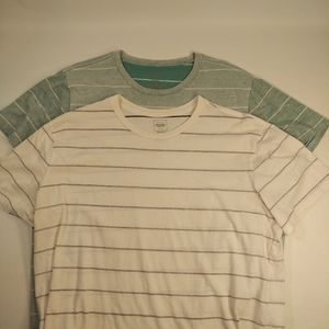 2 XL Mossimo Supply Co. Striped Shirts
